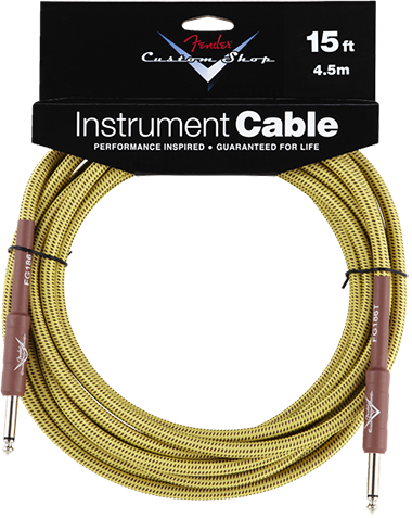 Performance Series Cable (Straight-Straight Angle) 15ft/4.5m Tweed