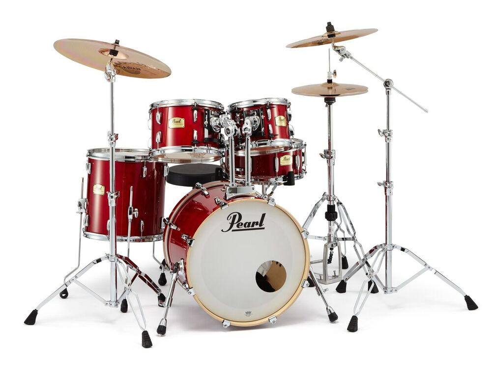 SSC905/C-DXR Session Studio Classic Compact #110 Sequoia Red w/SABIAN XSR シンバル付きフルセット