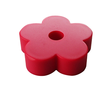 Plastic 45RPM Doughboy Adapters RED (ドーナツ盤 EPアダプター)