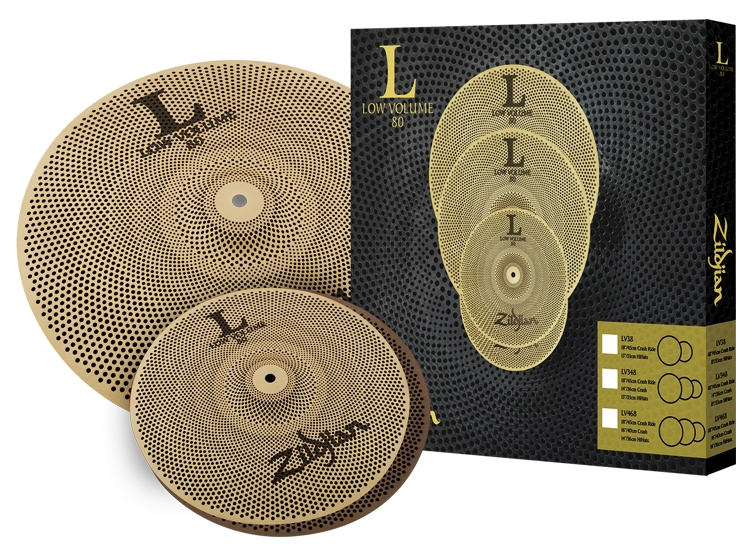 "L80 LOW VOLUME 38 Box Set 13"" HiHats、18"" Crash Ride"