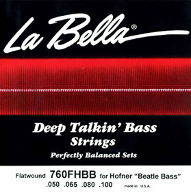 La Bella 760FHBB for Hofner BEATLE BASS ラベラ 弦