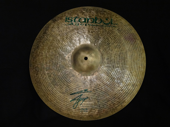"Agop Signature Series 18"" Crash 1233g"