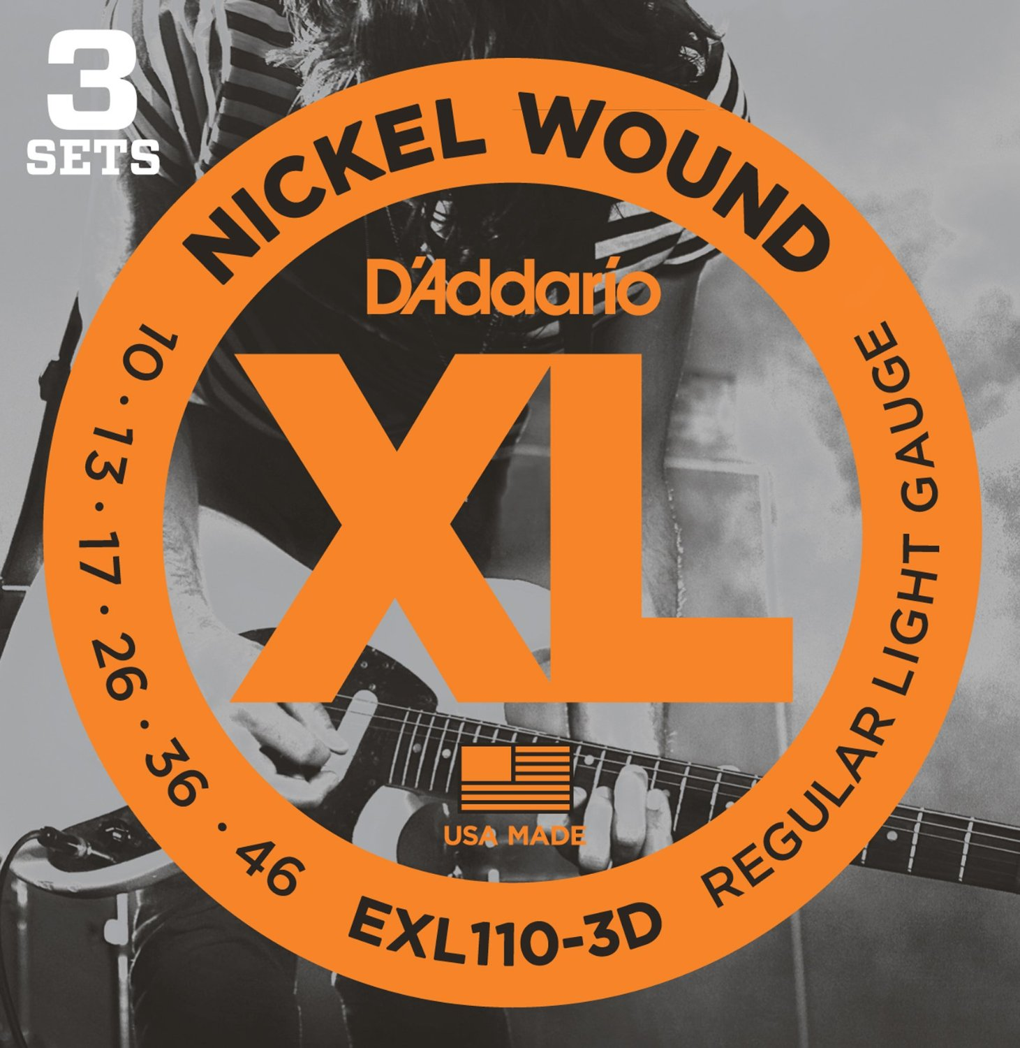 EXL110-3D [Nickel Wound 10-46] 3セット