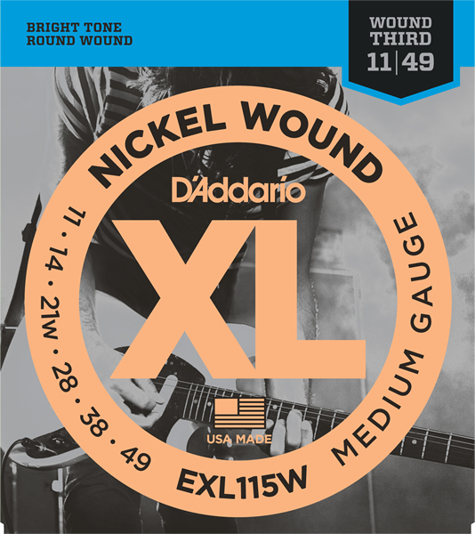 EXL115W【Blues/Jazz Rock/Wound 3rd】