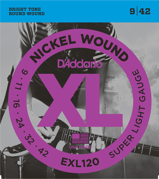 EXL120 [Nickel Wound 09-42]