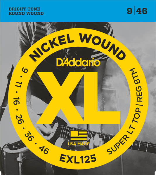 EXL125 [Nickel Wound 09-46]