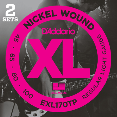 EXL170TP [Nickel Wound 45-100] 2セットパック