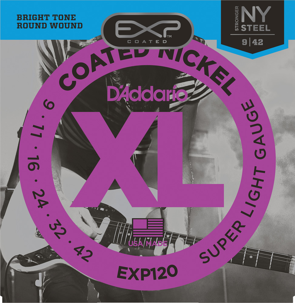 EXP120 【Coated Nickel Round Wound】