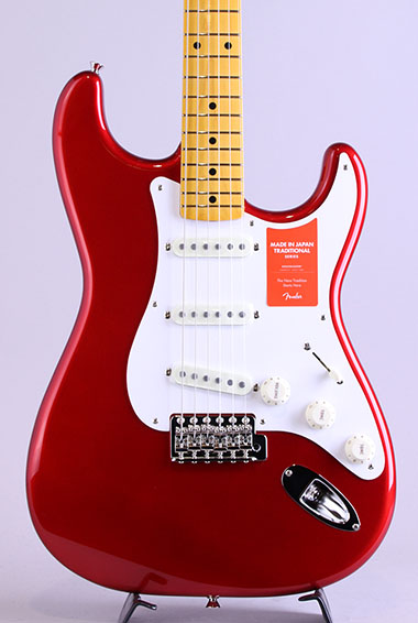 Made In Japan Traditional 50s Stratocaster/Candy Apple Red【S/N:JD19008712】