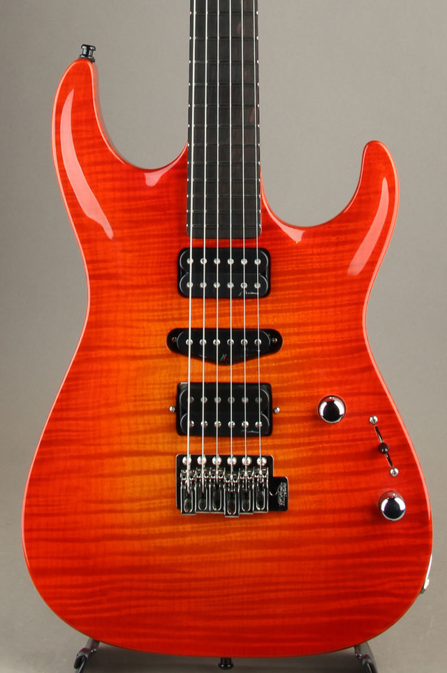 Set-Neck Carve Top Cherry