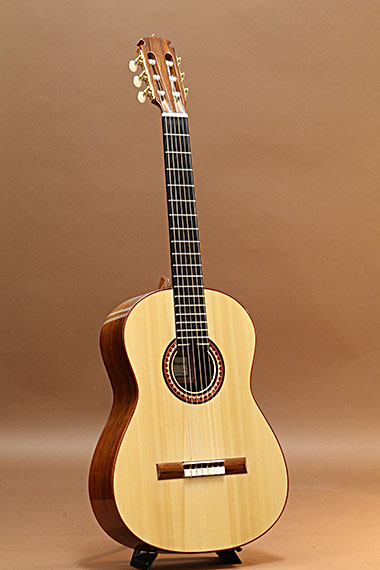 Classical Swiss Spruce / Madagascar Rosewood Flat Top
