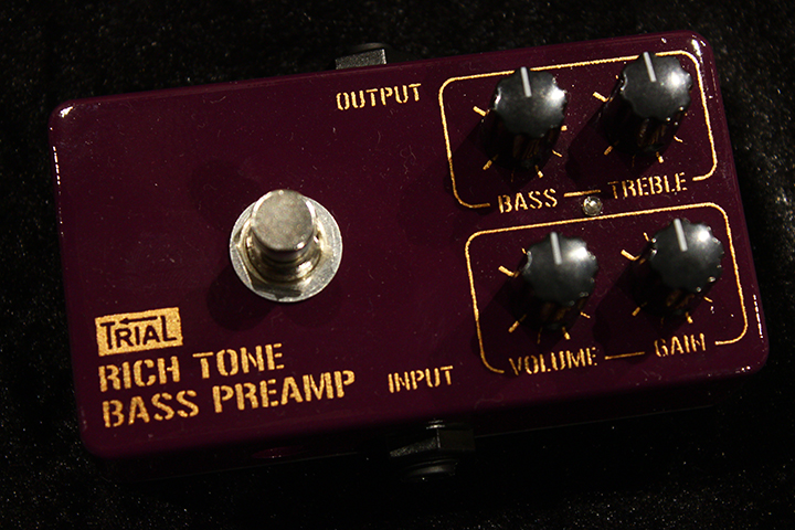 RICH TONE BASS PREAMP