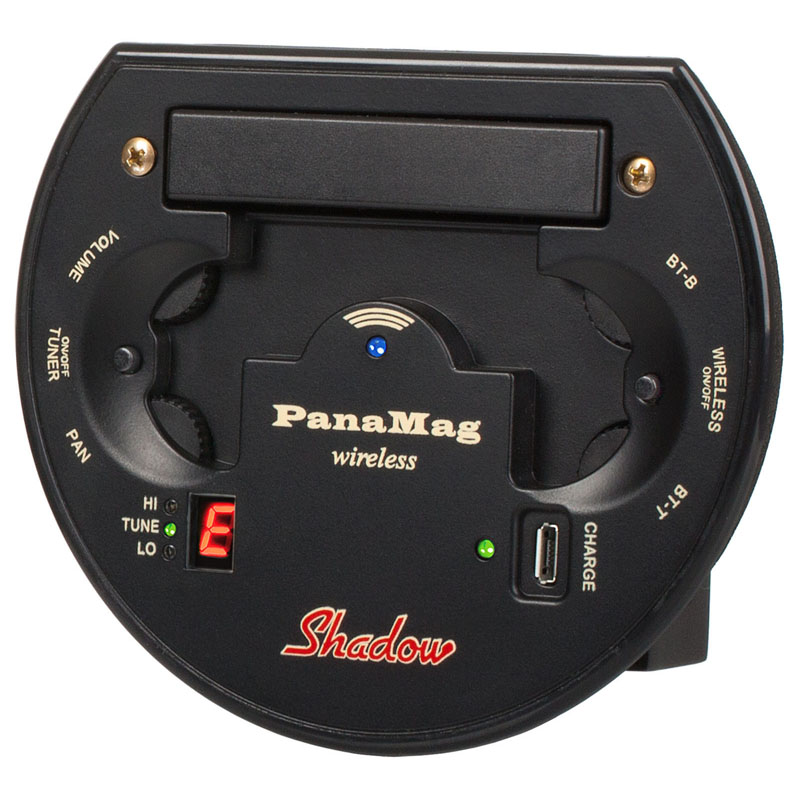 Wireless Soundhole Stereo NanoMAG Pickup System for Acoustic Guitar (SH PMG-W)