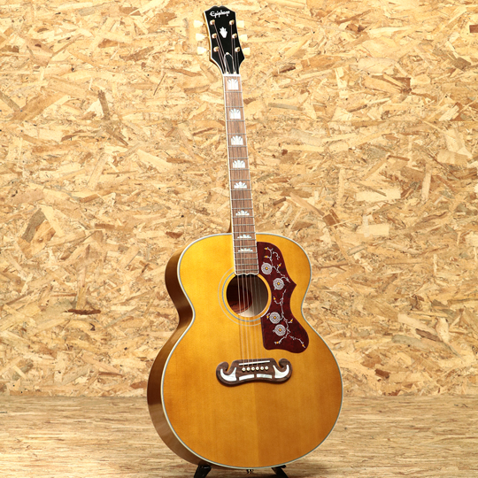 Epiphone Masterbilt Inspired by Gibson J-200 Aged Natural Antique Gloss【送料無料対象商品!!】 エピフォン サブ画像2